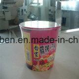 Caixa de máquinas de embalagem de encolher com alimentador