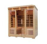 Infrarrojo Lejano en el interior Sauna Sauna Calefacción Carbono