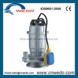 Pompa ad acqua sommergibile elettrica Qdx10-16-0.75 con l'interruttore di galleggiante