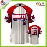 formar a todo o logotipo a camisa feita sob encomenda Dri do basebol softball apto Jersey
