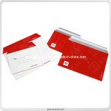 De façon écologique coloré joint papier cadeau d'enveloppes