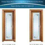 2016新しいデザインおよび新しいカラーアルミニウム浴室のドア