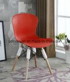純木のプラスチック食事の椅子Eames Chiars (M-X3080)