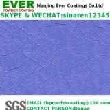 Electrostatic Spray Purple Crocodile Skin Powder Coating