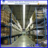 Ebil racking azul e alaranjado de Q235B da pálete