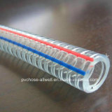 El agua reforzada plástica del espiral del resorte del alambre de acero del PVC consolida el manguito del conducto de tubo