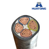 Isolation en polyéthylène réticulé à gaine PVC du câble d'alimentation