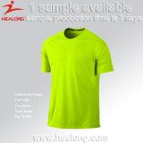 Maglietta unita uomo variopinto su ordinazione della squadra di calcio di disegno di Healong 2017