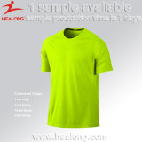 Healong 2017 Custom diseño colorido equipo de fútbol Manchester United T-Shirt