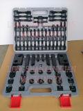 """1/2 """" - 연장통에 있는 장비를 죄는 12-11/16 """" 호화로운 강철 높은 경도 58PCS"""