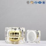 Choc acrylique cosmétique clair de luxe d'emballage