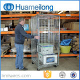 Malla de alambre de acero con aislamiento de rollo de contenedor de almacenamiento de carga