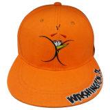 Boné de beisebol quente preto do Snapback da venda com o logotipo branco Gjfp17168