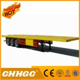 De Chhgc 3 do eixo do dever claro do recipiente reboque Flatbed Semi