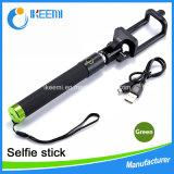 Venda quente Monopod Bluetooth portátil Selfie Stick