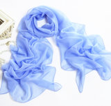 Royal Blue Multifunctional Chiffon Material Scarf