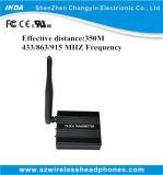 Émetteur de 350m avec 3 canaux de fréquence