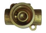 Parte forgiata calda d'ottone e parte della valvola lavorata CNC