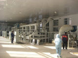 Buchweizen-Getreidemühle, die Maschinerie aufbereitet