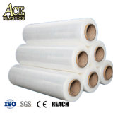 En PVC/PE Enveloppement transparent film étirable pour l'ensilage/Food/une palette d'emballage/l'enrubannage