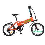 페달을%s 가진 20inch 36V 250W 리튬 건전지 Foldable 전기 자전거