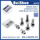 I bulloni Nuts della rotella dei 4+2 ricambi auto hanno impostato la serratura impostata per gli accessori dell'automobile