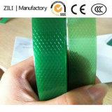 Força de alta tensão da bobina Jumbo Máquina Trança Ployester Plástico Verde tira de Pet 75kg /125 kg