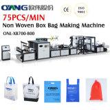 オンラインハンドルの付加が付いている機械を作る自動非編まれた袋