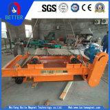 Separador magnético permanente seco da alta qualidade de Rbcyd para o processo mineral
