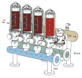 "Spaltölfilter-Selbstbewässerungssystem der Turbulenz-3 "" zurückströmendes"