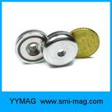 De Magnetische Assemblage van de Magneet van de Pot van de Holding van het neodymium met Gat