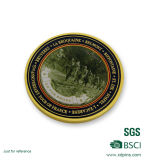 Runde kundenspezifische Entwurfs-Metallandenken-Goldmünze