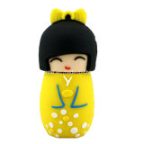 Cartoon boneca japonesa Memory Stick USB pendrive USB