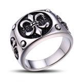 Anel de jóia de jóias para homens de aço inoxidável