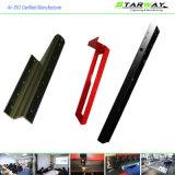 Rotes Puder-überzogene Laser-Ausschnitt-Blech-Herstellungs-Teile