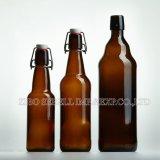 330ml, 500ml, 750ml, Kippen 1000ml zur bernsteinfarbigen Glasbierflasche