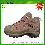 Coupe haute style de bottes de randonnée de dentelle à chaud