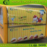 2017 Hot Sale carrinho de comida móvel com melhor qualidade