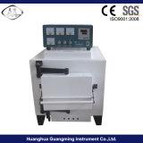1300/1600c forno a muffola a temperatura elevata, forno a resistenza a forma di scatola