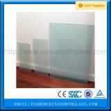 Frosting piano colorato di vetro