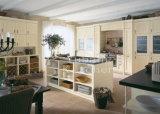 Gabinete de cozinha da madeira contínua e mobília #235 da cozinha