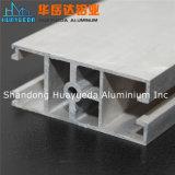 O alumínio dos materiais de construção perfila os trilhos e o frame de alumínio da extrusão da construção