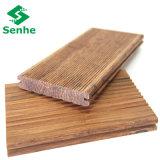 La venta al por mayor dirigió el suelo de bambú hecho de bambú tejido hilo
