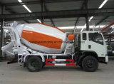 LKW-neuer Entwurf des Betonmischer-4X2 5 Tonnen Kleber-Mischer-LKW-für Verkauf