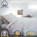 백색 평야 100% Cotton/CVC의 호텔 또는 병원 또는 가정 깃털 이불 고정되는 직물