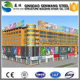 Estrutura de aço para edifícios prefabricados Hotel Super Mercado Office