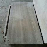Het grijze Marmeren Natuurlijke Grijze Marmer van de Travertijn poetste het Houten Marmer van de Travertijn op