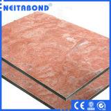 Piedra de mármol de granito del Panel de nido de abeja de aluminio para muro cortina, Panel Compuesto de Aluminio