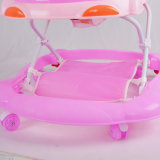 Caminhante cor-de-rosa do bebê da cor da fábrica de Pingxiang