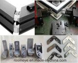 De hete Deur van de Gordijnstof van het Aluminium van de Verkoop met het Aangemaakte Ontwerp van het Glas en van de Grill